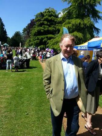 Police & Crime Commissioner at Fun in the Park