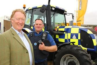 Police & Crime Commissioner visits Berkshire County Show