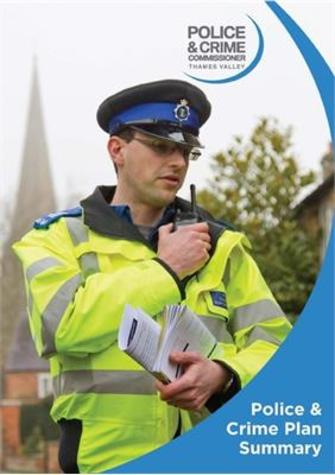 Police and Crime Plan summary